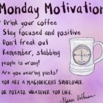 Monday Good morning all